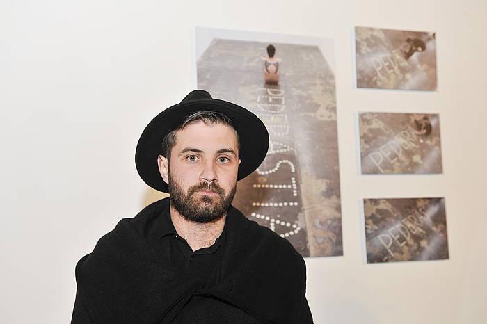 Abel Azkona artista.