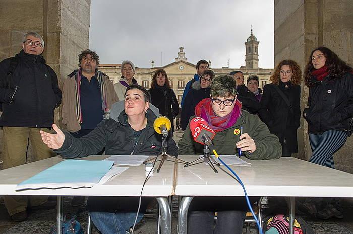 LGTBI komunitatea babesteko protokoloa ezartzeko eskatu diote Gasteizko Udalari.
