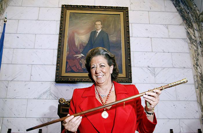 Rita Barbera senataria, artxiboko irudi batean.