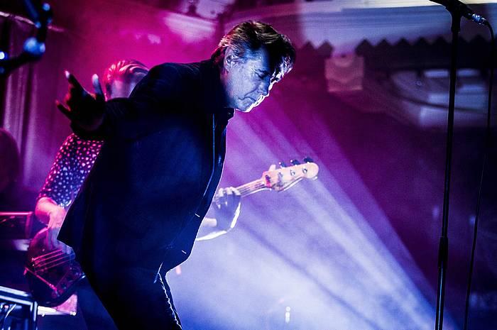 Bryan Ferry musikaria, artxiboko argazki batean.