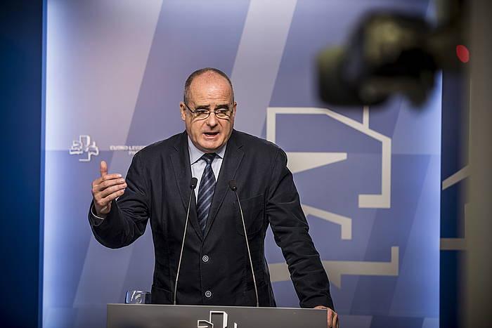 Joseba Egibar, artxiboko argazki batean. / ©Jaizki Fontaneda, Argazki Press