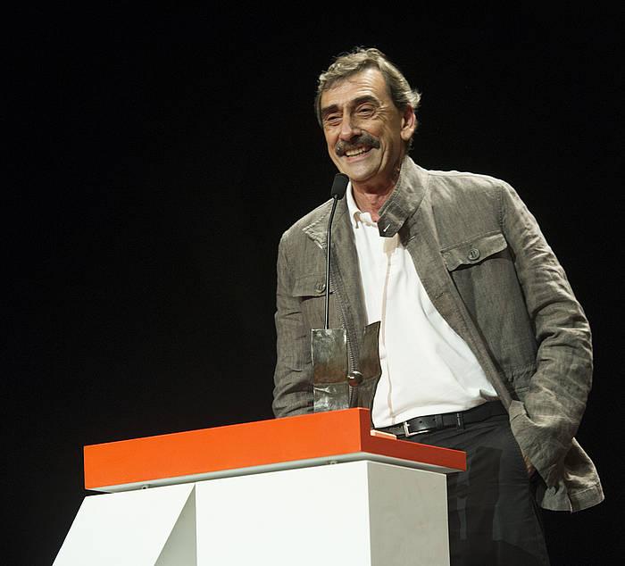 Juanba Berastegi, Euskal Zinemaren Galan, Donostiako 2013ko Zinemaldian.