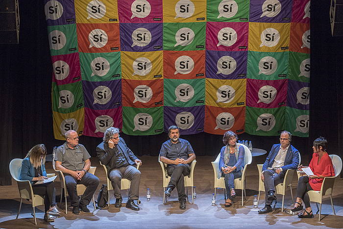 Hizlariak, Bilboko Kafe Antzokian. ©Juanan Ruiz / Argazki Press