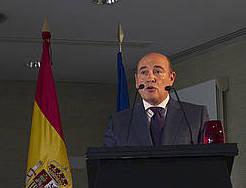 Perez de los Cobos, artxiboko irudi batean. /