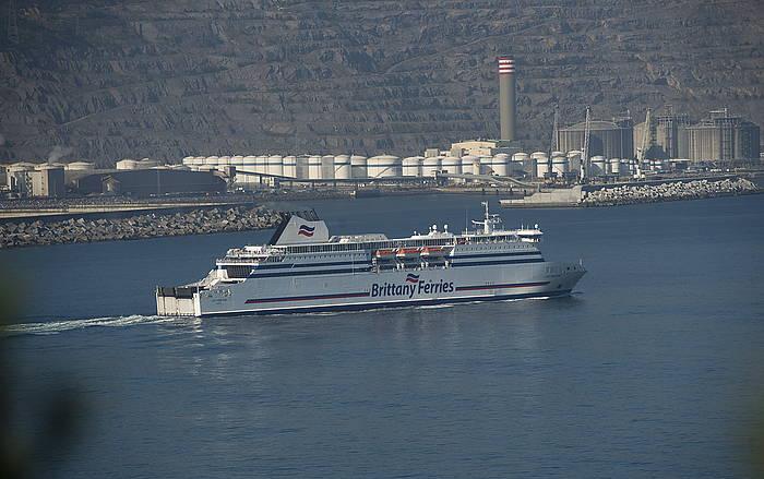 Portsmouthera doan ferrya, Bilboko Portuan.