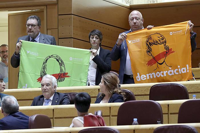 Espainiako senatuak onartu behar du 155. artikluaren aplikazioa.