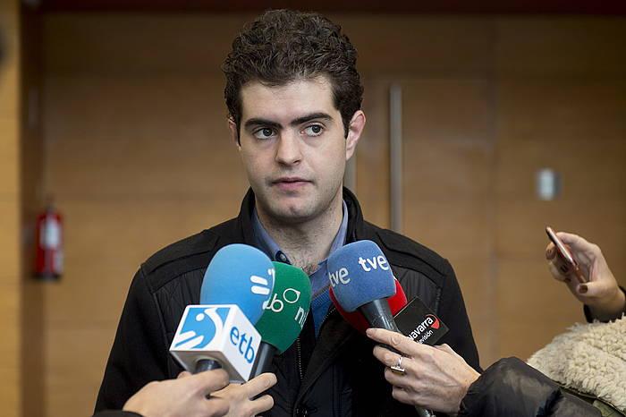 Javier Ollo Altsasuko alkatea, iaz. / ©Iñigo Uriz, Argazki Press