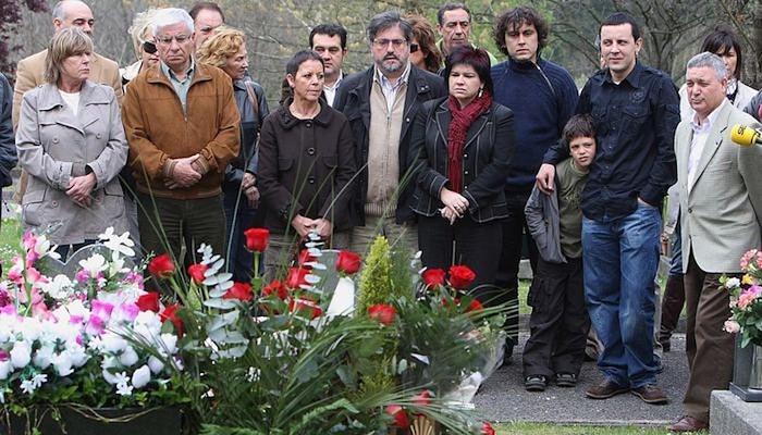 ETAk hildako Froilan Elespe PSE-EEko zinegotziaren omenezko ekitaldia, 2008an. / ©Juan Herrero, EFE