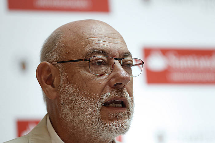 Jose Manuel Maza, Espainiako fiskal nagusia, artxiboko argazkian.