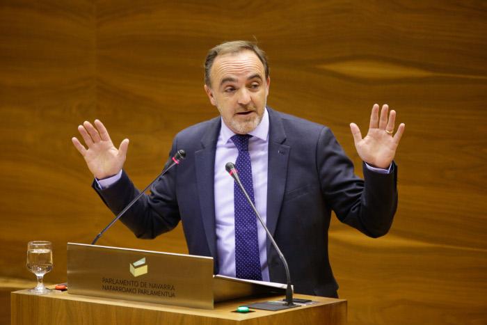 UPNko Jose Javier Esparza ©Berria / Nafarroako Parlamentua