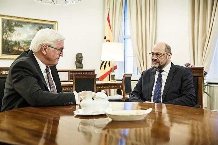 Frank Walter Steinmeier eta Martin Schulz, Berlinen / ©Jesco Denzel, EFE