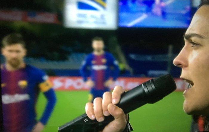 Lujanbio eta Messi elkartu ziren Anoetako ohorezko sakean