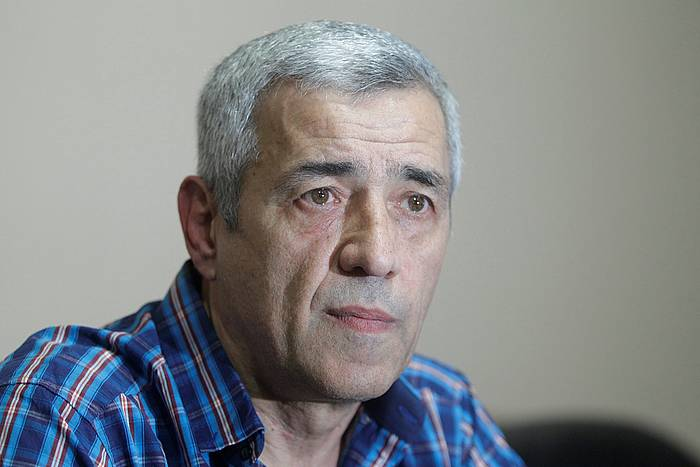 Oliver Ivanovic, gaur Kosovon hil duten politikari serbiarra, 2015ean eskaini zuen elkarrizketa batean. /. /