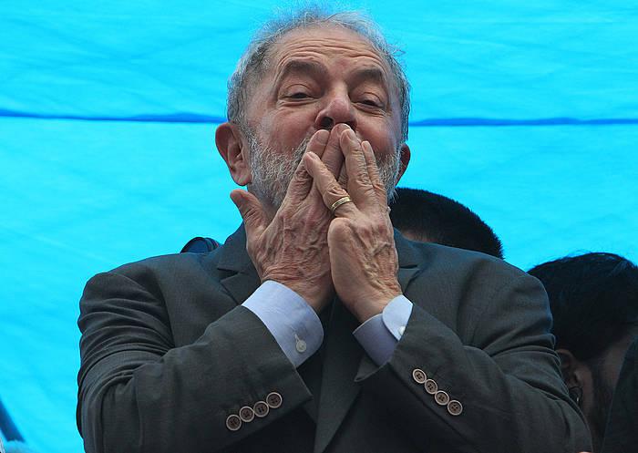 Lula da Silva, atzo, artxiboko irudi batean. / ©Joédson Alves, Efe