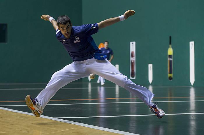 Joseba Ezkurdia, artxiboko argazki batean. / ©Iñigo Uriz, Argazki Press