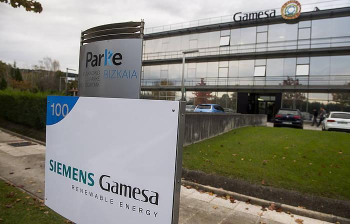 Siemens Gamesaren egoitza nagusia, Zamudioko parke teknologikoan. / ©Luis Jauregialtzo, Argazki Press