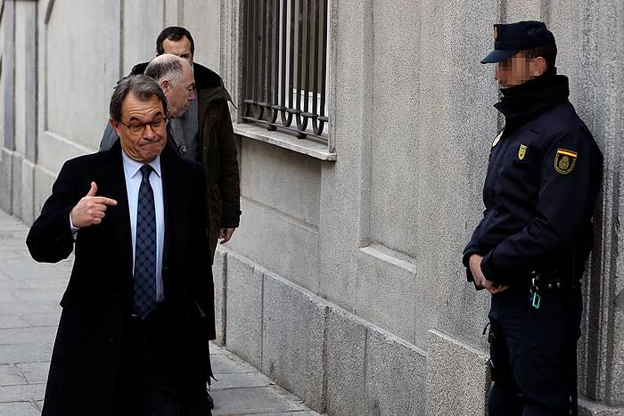 Artur Mas presidente ohia, Gorenera iristerakoan /