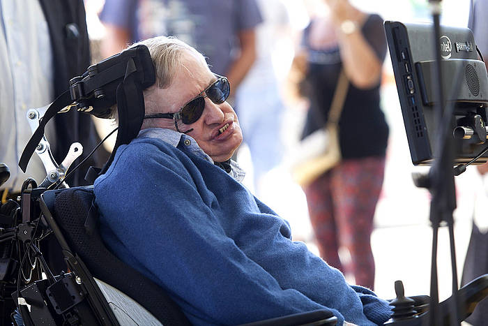 Stephen Hawking, artxiboko irudi batean. /