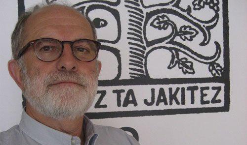 Jean Mihel Larrasquet, artxiboko irudi batean. /