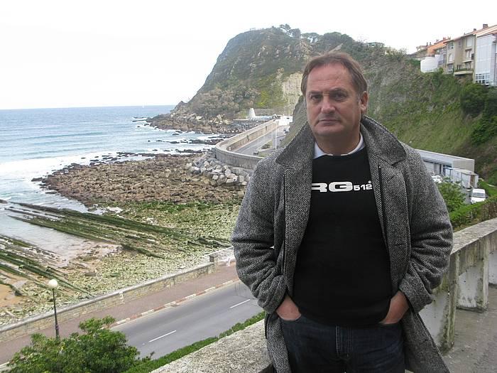 Mariano Kamio, 2008ko Balentziaga Fundazioko lehendakariorde eta Berroeta Aldamar elkarteko kudeatzaile zenean. /