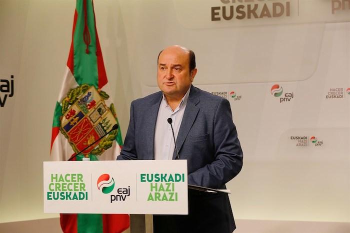 Andoni Ortuzar EAJko Euskadi Buru Batzarreko presidentea. Artxiboko irudia. / ©
