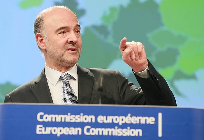 Pierre Moscovici Europako Batzordeko Ekonomia komisarioa