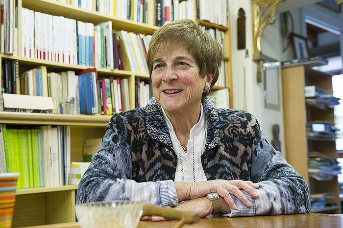 Teresa del Valle, 2013ko irudi batean ©Gorka Rubio / Foku