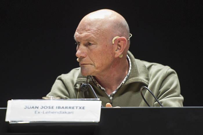 Juan Jose Ibrretxe Eusko Jaurlaritzako lehendakari ohia, artxiboko irudi batean. / ©Juanan Ruiz, Foku