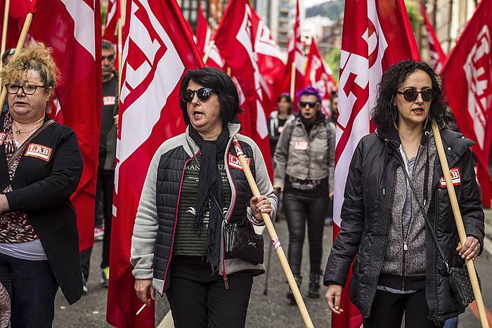 LABeko manifestazio bat artxiboko argazki batean. ©FOKU