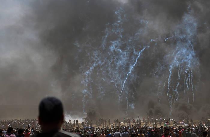 Israel, palestinarrei erasoan, astelehenean.