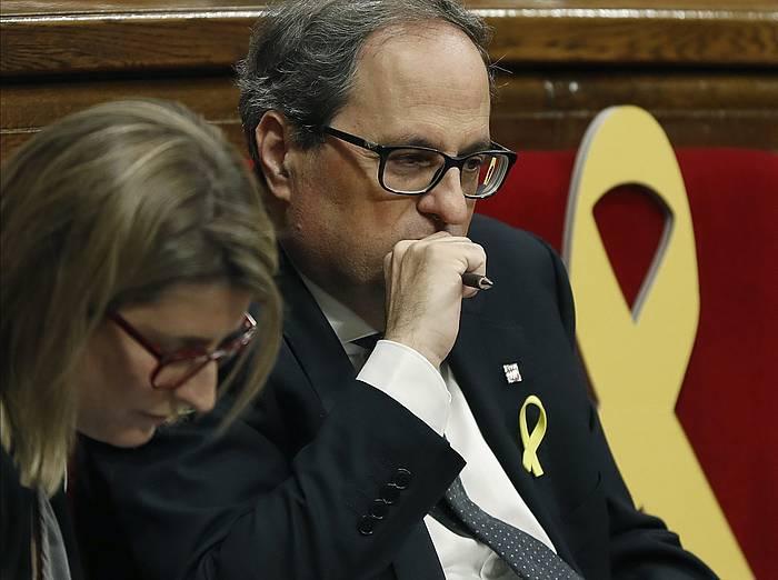 Artadi eta Torra, Kataluniako Legebitzarrean.