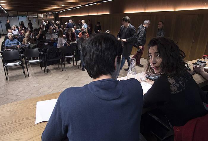 Nafarroako Ahal Dugu-ko kritikoek batzarra egin zuten iragan martxoan