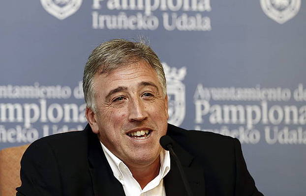 Joseba Asiron Iruñeko alkatea, artxiboko irudi batean. / ©Jesus Diges, EFE