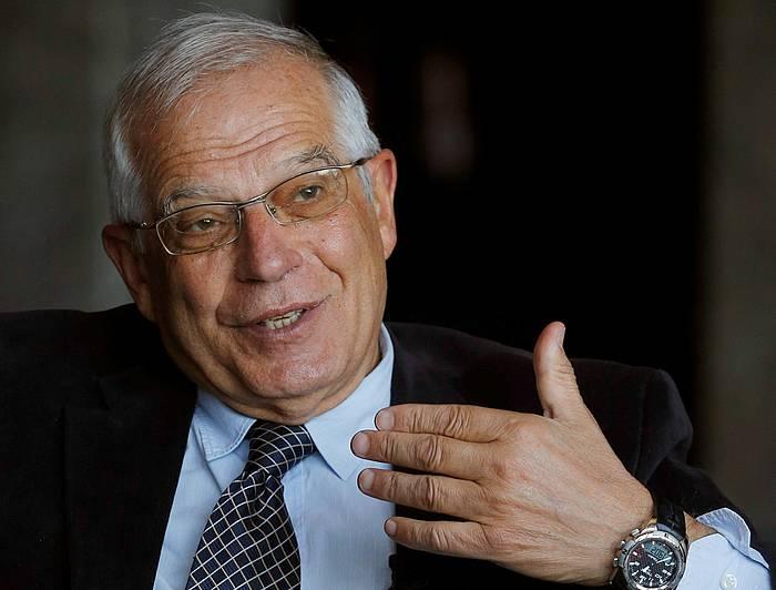 Borrell, atxiboko irudi batean. ©EFE