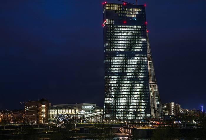 Europako Banku Zentralaren egoitza, Frankfurten.