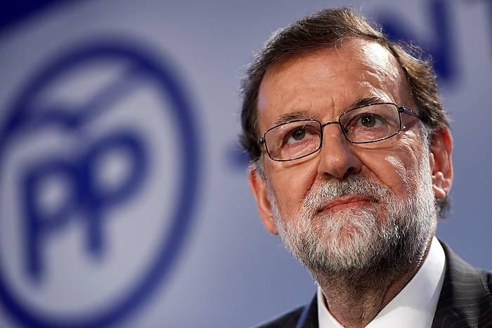 Mariano Rajoy PPko presidentea, artxiboko irudi batean. / ©Mariscal, EFE