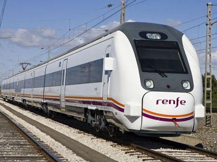 449 serieko Renferen tren bat. /