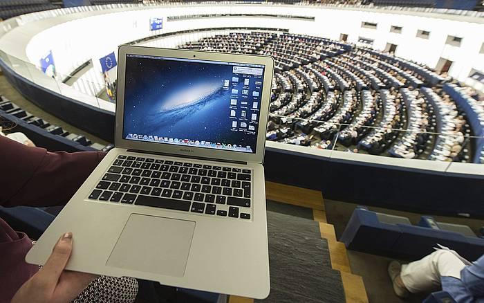 Europako Parlamentua, artxiboko irudi batean. ©Patrick Seeger, EFE