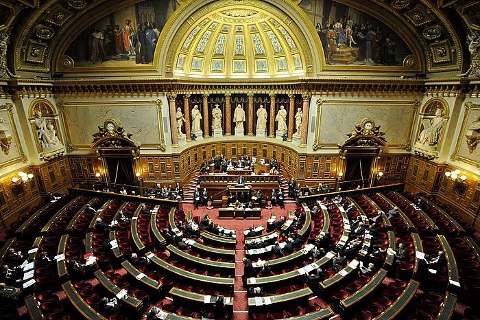 Frantziako senatua, artxiboko irudi batean.