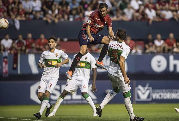 Juan Villar gola sartu zuen unean./