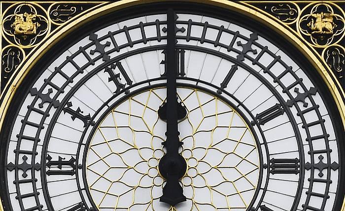 Londresko Big Ben erloju ezaguna./