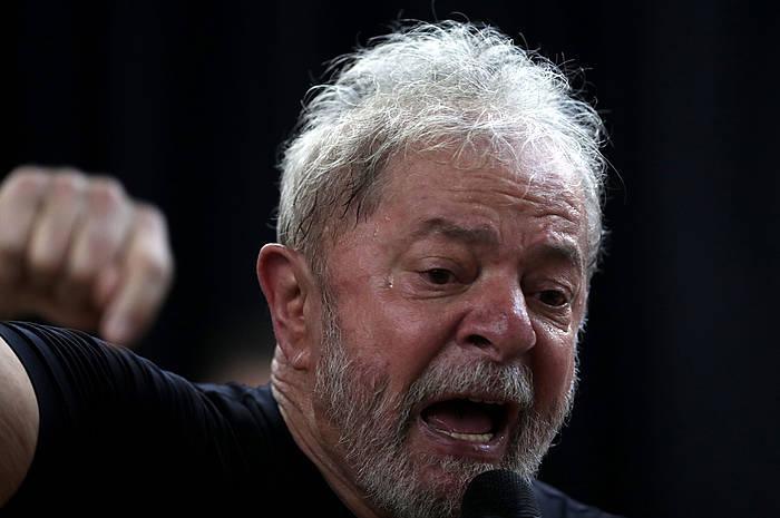 Lula, artxiboko argazki batean. /