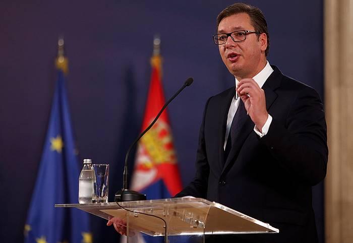 Vucic, Serbiako presidentea. ©ANDREJ CUKIC, EFE