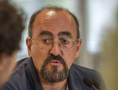 Karlos Apeztegia, 2013ko urrian.