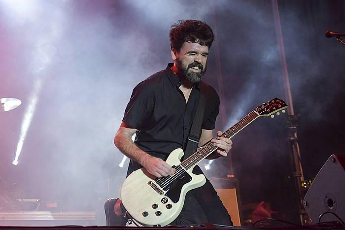 Berri Txarrak, iazko Sanferminetan, Iruñean.
