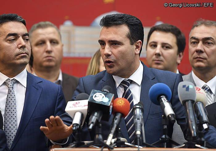 Mazedoniako lehen ministroa parlamentuako bozketaren ostean, atzo