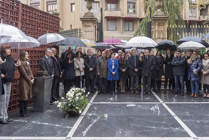 Memoriare Eguneko ekitaldia, iaz, Eusko Legebiltzarrean.