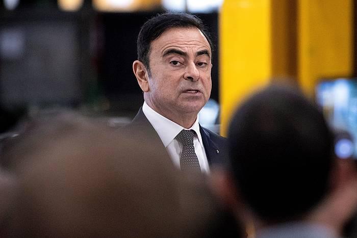 Carlos Ghosn Renaulteko presidentea da, eta Renault-Nissan-Mitsubishi aliantzaren burua.