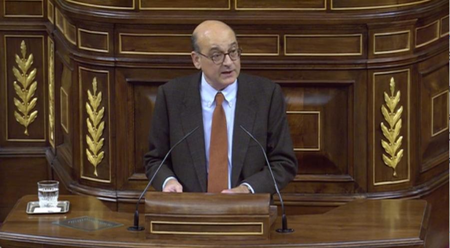 Mikel Legarda EAJko diputatua, gaur, Espainiako Kongresuan. ©