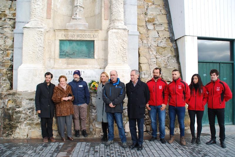 Aita Mariren omenez gaur Donostian egindako ekitaldia. ©Untzi museoa.